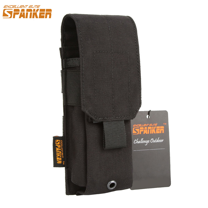 EXCELLENT ELITE SPANKER Tactical Single Stacker <font><b>M4</b></font> <font><b>Magazine</b></font> Pouch Military Outdoor Hunting Ammo Clip Cartridge Bag Equipment image