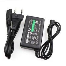 """עבור PSP מטען 5V AC מתאם בית מטען קיר ספק כוח כבל עבור Sony PSP פלייסטיישן 1000 2000 3000 האיחוד האירופי ארה""""ב תקע"""