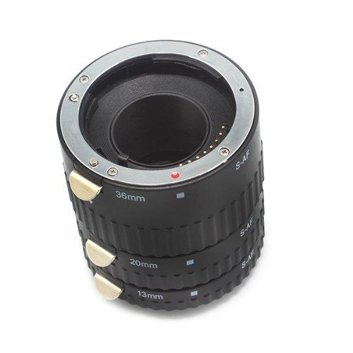 Meike S-AF-A Juego de anillos de tubo de extensión macro de enfoque - Cámara y foto - foto 3