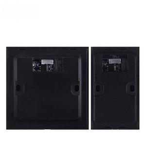 Image 3 - IP55 wodoodporna ściana do montażu na wyłącznik dotykowy Buttion z LED działa dobrze w ciemności NC NO COM dla system kontroli dostępu do drzwi