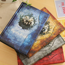 Hardcover Harry Potter Vintage Notebook/Diary/Gift stationery Note Book/Agenda Planner 2016-2017-2018 calendar Free shipping(China (Mainland))