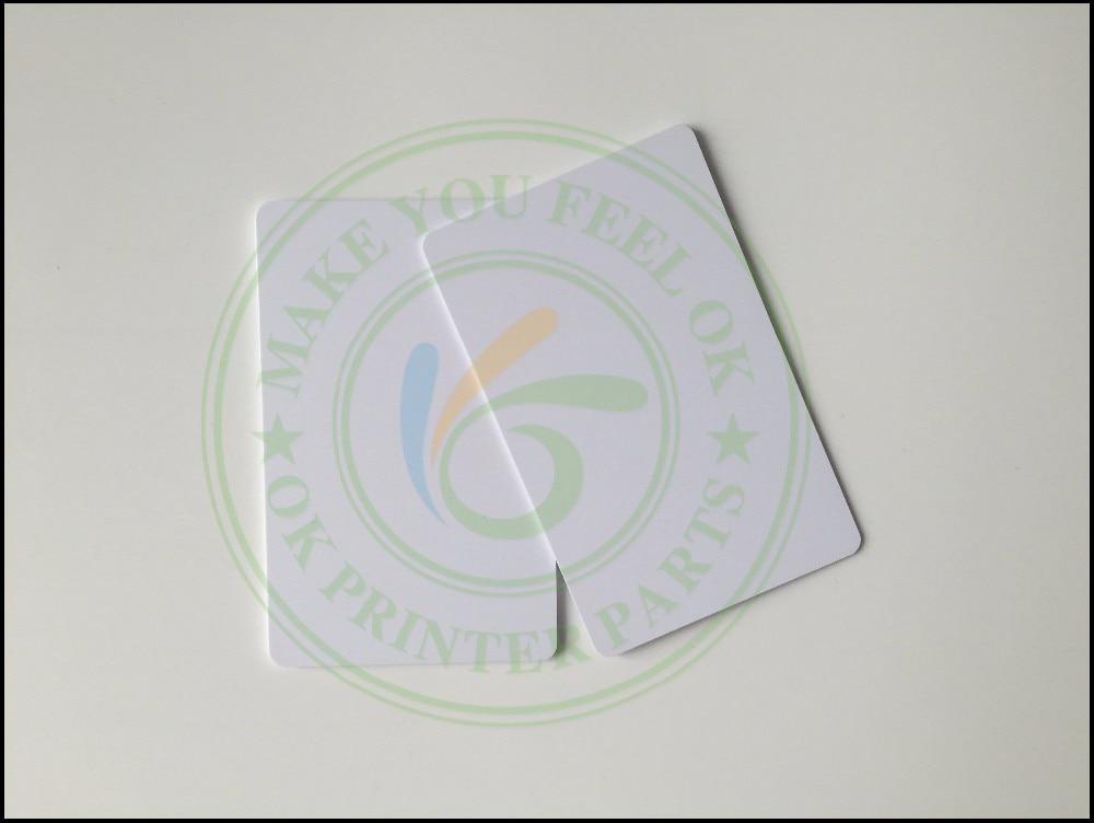Prix pour 230 PC Brillant jet d'encre imprimable PVC CARTE pour Epson R260 R270 R280 R290 R330 R390 T50 P50 L800 L801 Px650 R200 R210 R220 R230 R300