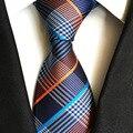 Inglaterra camisa a cuadros traje de accesorios de Moda salvaje de los hombres corbata lazo de los hombres de Alto grado el temperamento empate