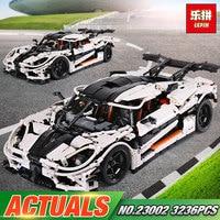 Lepin 23002 3136Pcs Technic Series The MOC 4789 Changing Racing Car Set Children Building Blocks Bricks