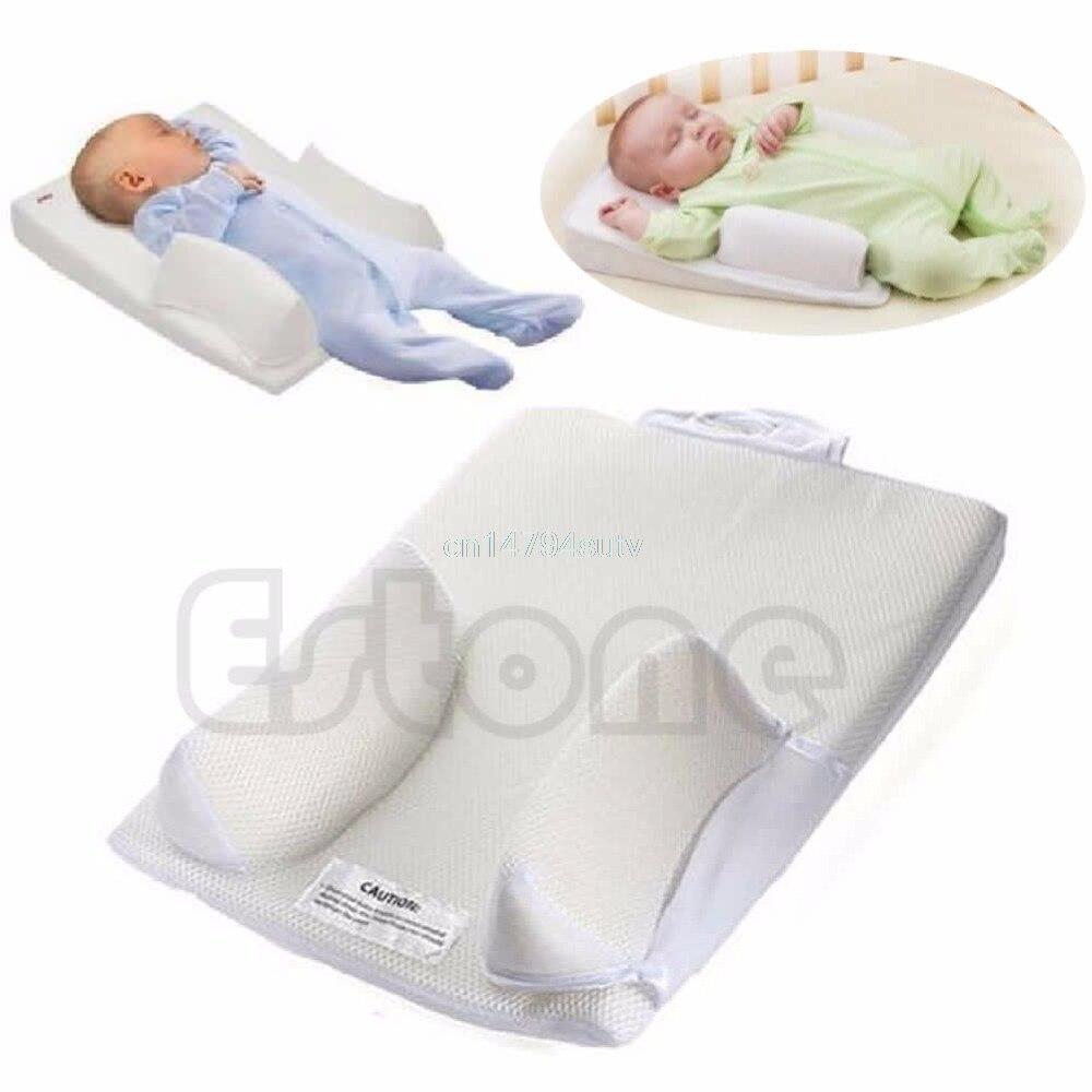Sistema Prevenire Flat Head Sfogo Finale Fisso Posizionatore Sonno infantile Bambino Cuscino # H055 #