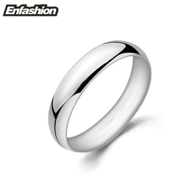 Fashion Couple Wedding Rings Rose Gold color Midi Ring Stainless Steel Ring Knuckle Rings For Women Men Jewelry Bagues Anillos