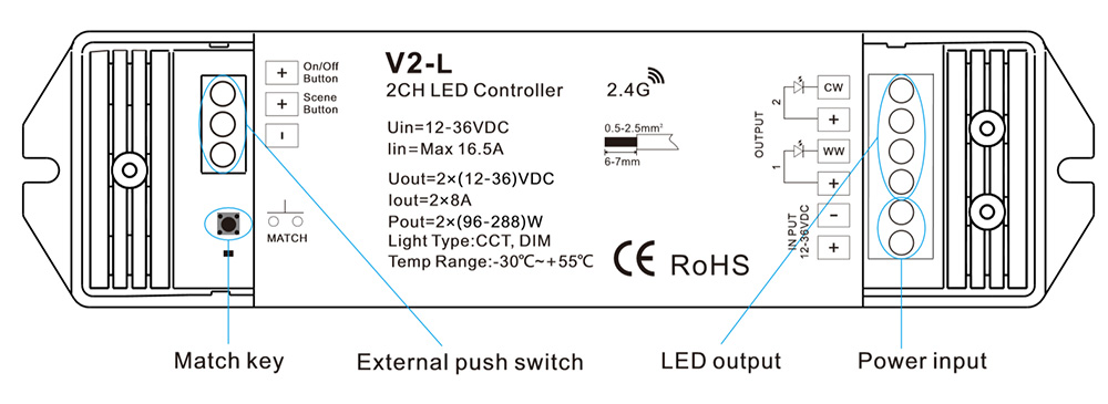 cct led dimmer