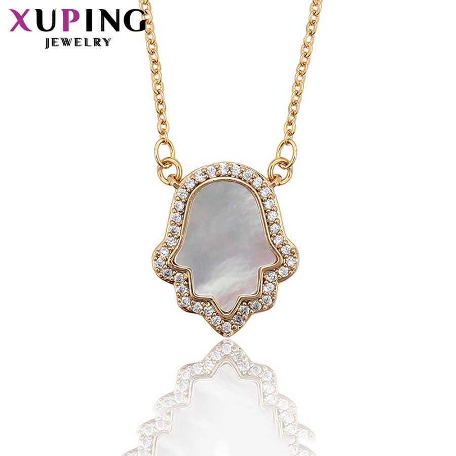 11.11 xuping estilo europeu acessórios animal em forma de zircônia cúbica sintética colar artístico jóias presentes s41, 3-45485
