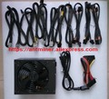 1000w 80PLUS Gold ATX motherboard desktop computer PC power supply Great wall Grand power supply PSU 140mm Fan A100-240V