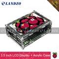 """3.5 pulgadas de pantalla 3.5 """"Pantalla Táctil TFT LCD de Pantalla para Raspberry Pi 2/Caso Raspberry Pi 3 Modelo B + Tablero de Acrílico + Stylus"""