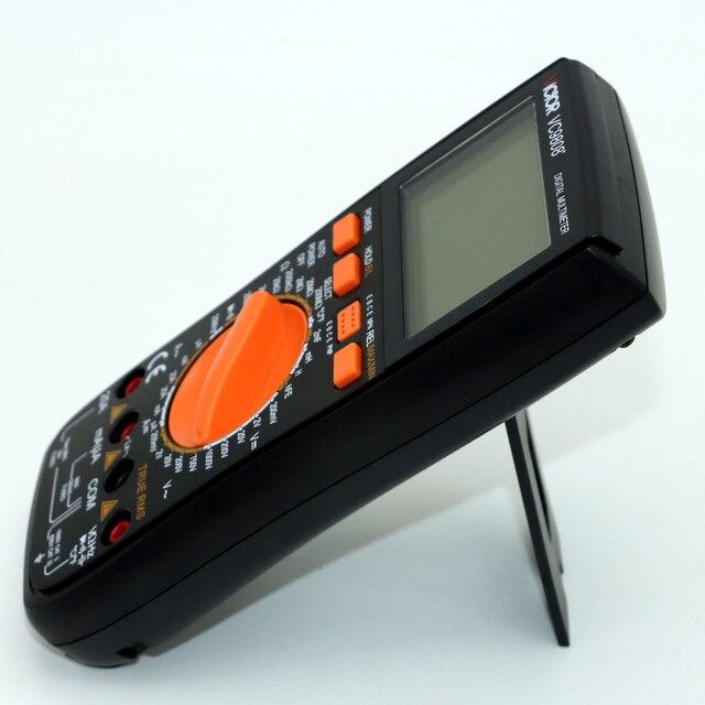 VICTOR VC9808+ 3 1/2 Digital multimeter Electrical Meter Inductance DCV ACV DCA/R/C/L/F