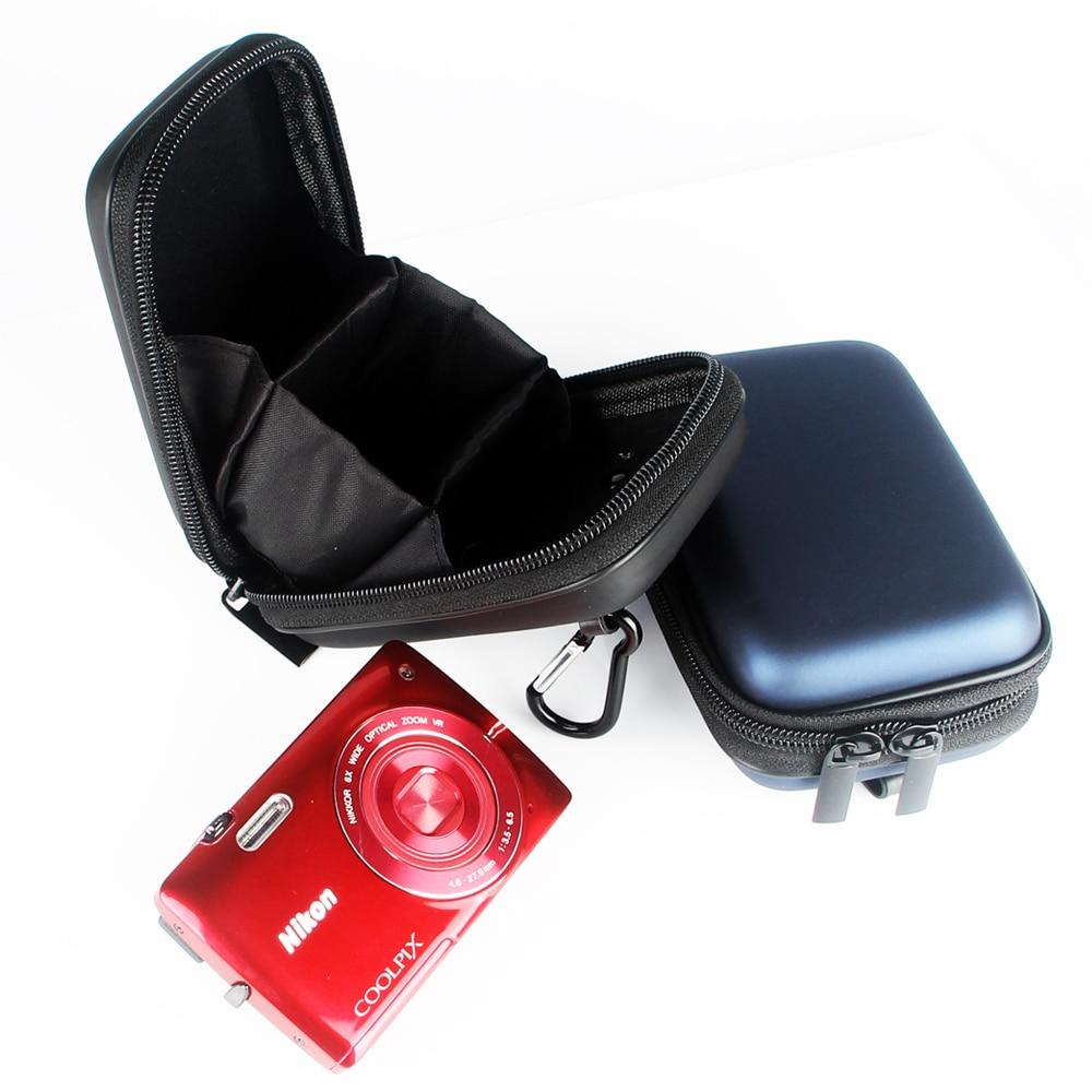 Antishock EVA Digital Camera Bag Case for Olympus SH-3 SH-2 SH-1 TG-4 TG-3 TG-860 TG-850 SZ-17 SZ-16 SZ15 SZ31 with Carabiner