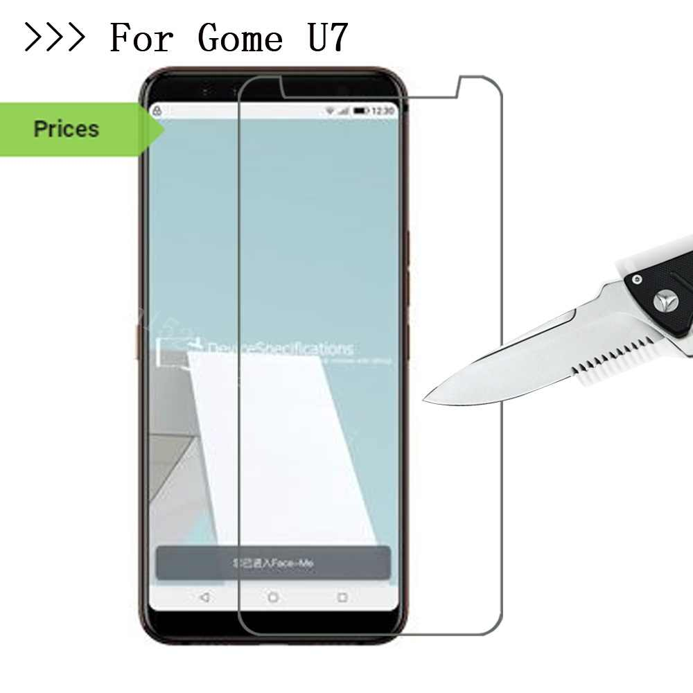 Smartphone Tempered Glass for Gome U7 Explosion-proof Protective Film Screen Protector cover  for Gome u 7