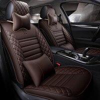 Искусственная кожа автомобиля чехлы на сиденья для dacia duster hyundai creta lada kalina Мерседес w211 nissan qashqai авто аксессуары