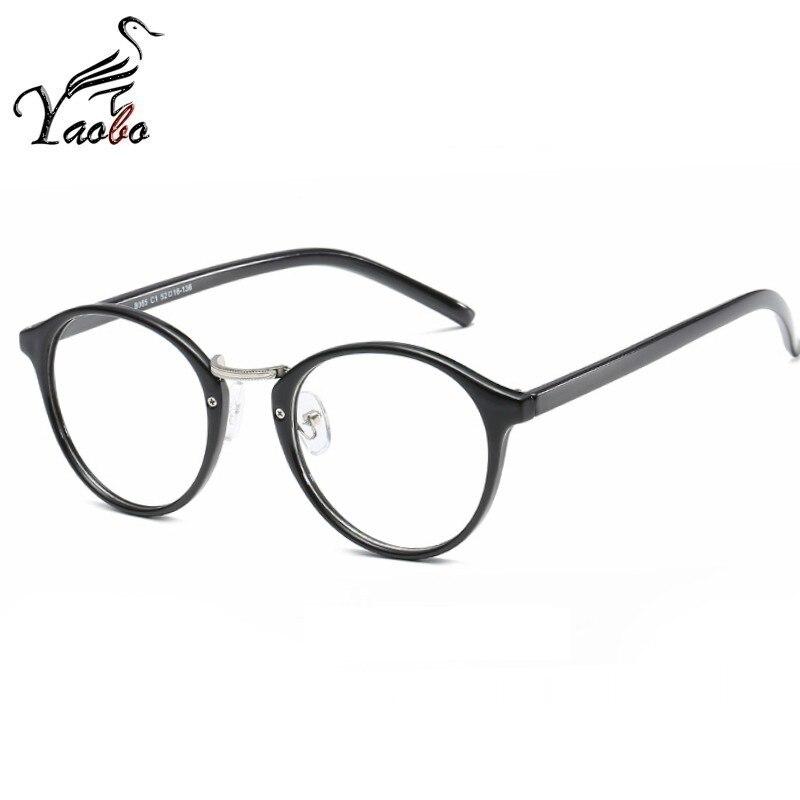8a56d241a357 Trendy Metal Women Fake Glasses Frame Men Eyeglasses Frame Vintage Oval  Clear Glasses Optical Spectacle Frame spectacles-in Eyewear Frames from  Apparel ...