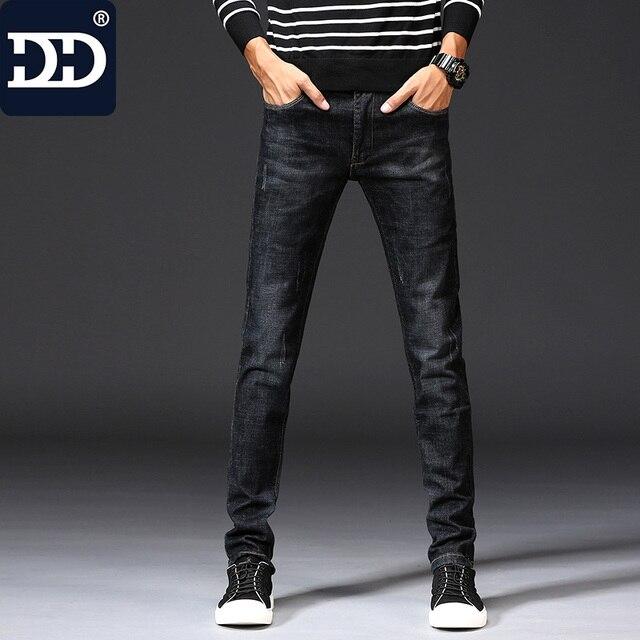 ae3aa4a6f Dingdi Marca Melhor Presente Para Namorado calça jeans E Husbad Masculina  Esportiva Calças Magros das calças