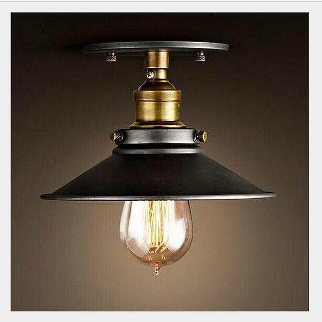 Nowoczesne lampy sufitowe led vintage salon sypialnia plafonnier Luminarias lampara de techo przemysłowe lampy sufitowe