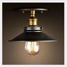 מודרני led תקרת אורות סלון בציר חדר שינה plafonnier Luminarias lampara דה techo תעשייתי תקרה רכוב מנורות