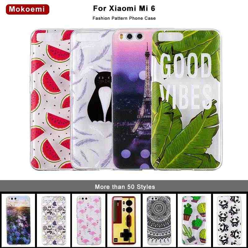 """Mokoe mi Модный милый роскошный мягкий 5,15 """"чехол для Xiaomi mi 6 для Xiaomi mi 6 mi 6 Чехол для сотового телефона"""