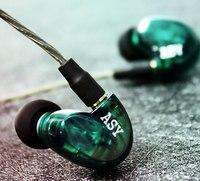PIZEN ASY Hybrid Balanced Armature in ear Earphone MMCX Detachable Cable HIFI DJ monitor Sport Earphones Headset Earbud UE SE535