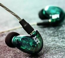 PIZEN ASY Hybrid Balanced Armature in ear Earphone MMCX Detachable Cable HIFI DJ monitor Sport Earphones Headset Earbud UE SE535 цена и фото