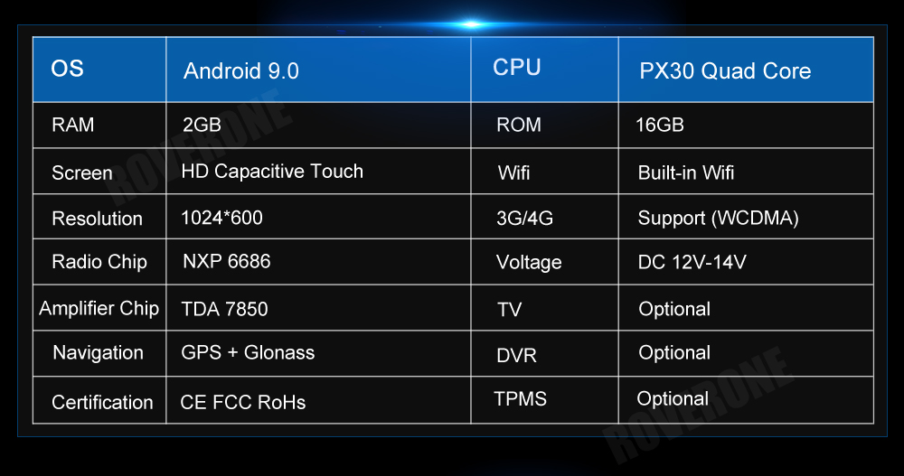 Excellent For Suzuki Jimny 2007 - 2013 Android 9.0 2G+16G Quad Core Autoradio Car DVD Radio Stereo GPS Navigation Multimedia Player 14
