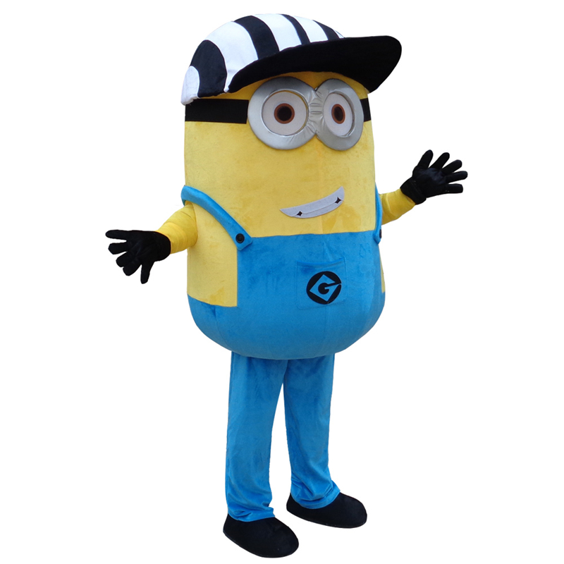 Free Shipping,22 Styles Minion Mascot Costume For Adults mascot costume