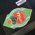 Sixsub ISLE OF MAN TT racing moto cars  отражательные переводные наклейки  водонепроницаемые  солнцезащитные