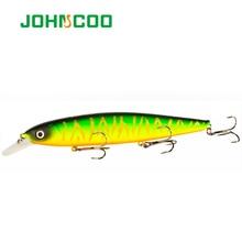 JOHNCOO Balisong 130SP Minnow Hard Fishing Lure 130mm 25g Wobbler with Sharp Treble Hooks Baits High Quality