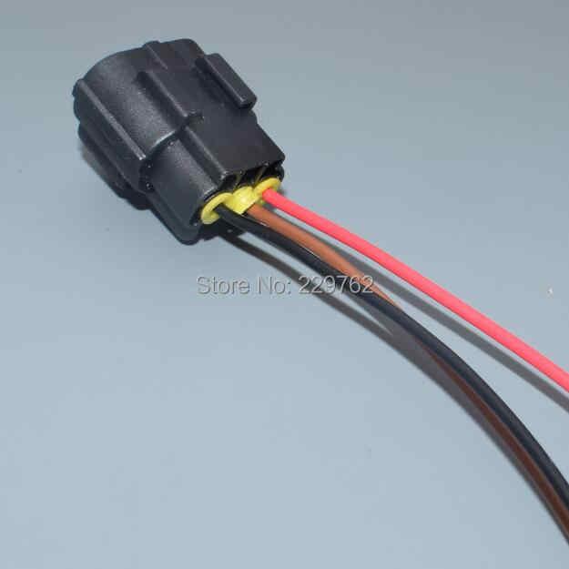shhworldsea car camshaft eccentric shaft position sensor wiring harness  connector 174357-2 368523-1for Volvo S60 S80 XC60 XC90