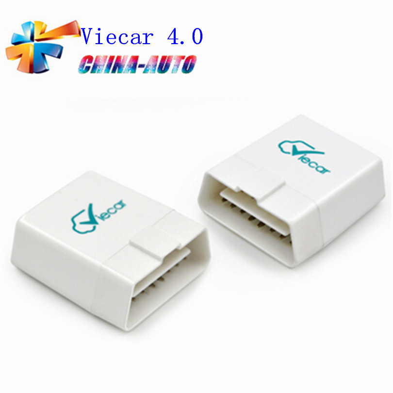 50 pz/lotto Promozione Viecar 4.0 obd2 diagnostica scanner bluetooth strumento Viecar 4.0 con funzione di HUD Per IOS e Android