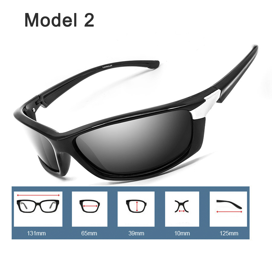 NEWBOLER Sunglasses Men Polarized Sport Fishing Sun ...