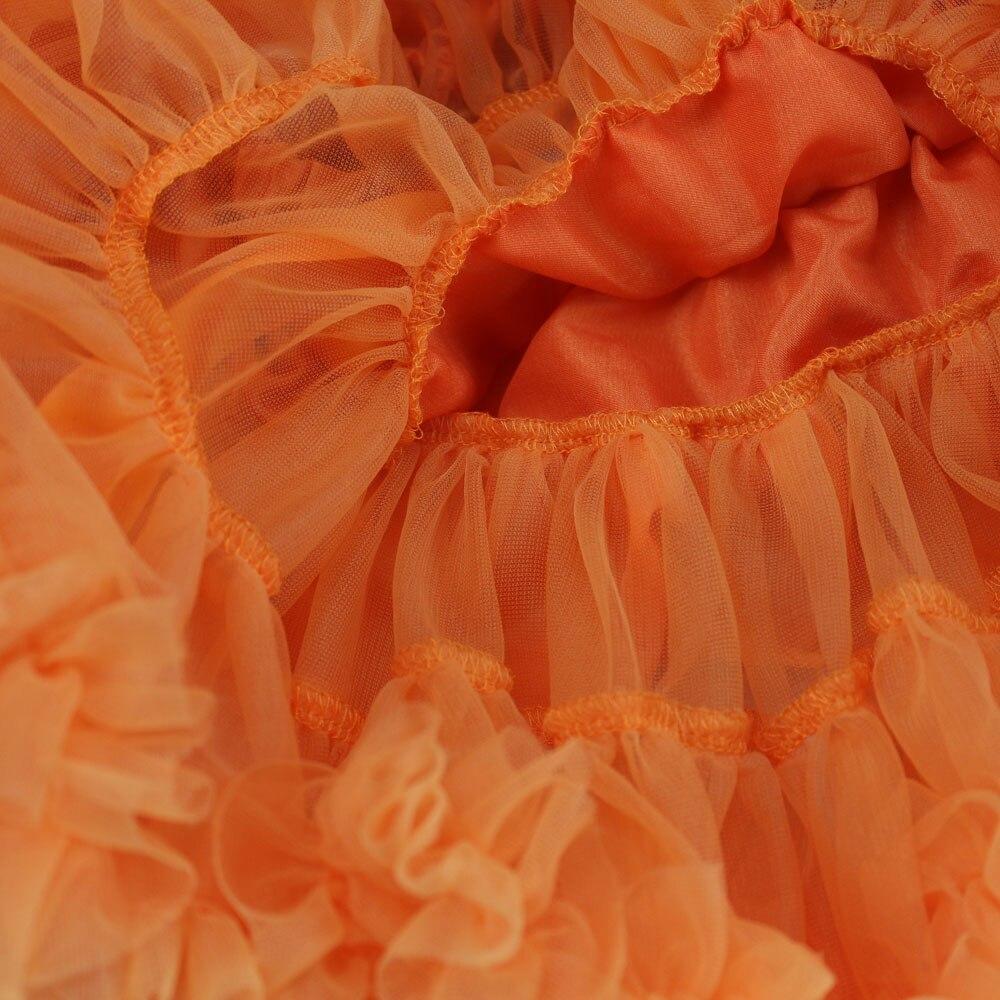 Юбка-американка для девочек; праздничная одежда на Хэллоуин; оранжевые юбки-пачки для маленьких девочек; пышная юбка-пачка для девочек; Одежда для девочек