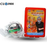 Household practical Fire Escape Mask Filter Type Fire Rescue Respirator Fire Mask Emergency Protection Mask
