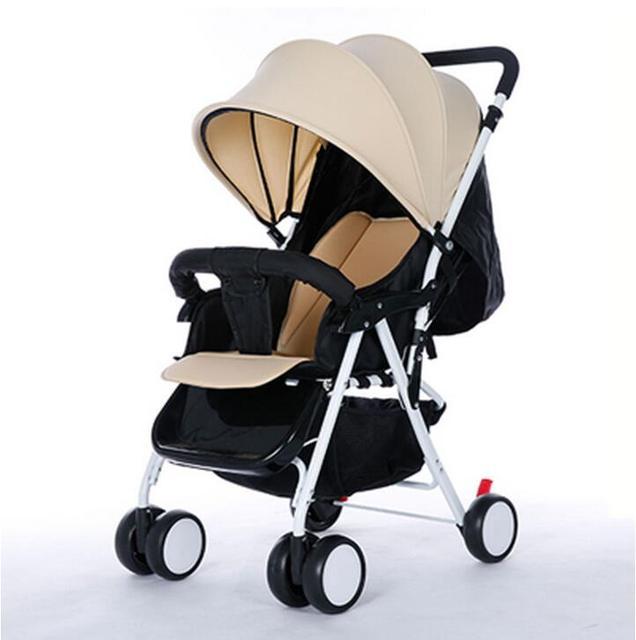 Nova Chegada de Carro Do Bebê Dobrável Fácil Carrinho De Bebê Super Leve Carrinho de Bebê Portátil À Prova de Choque de Alta Paisagem Carrinho de Bebê