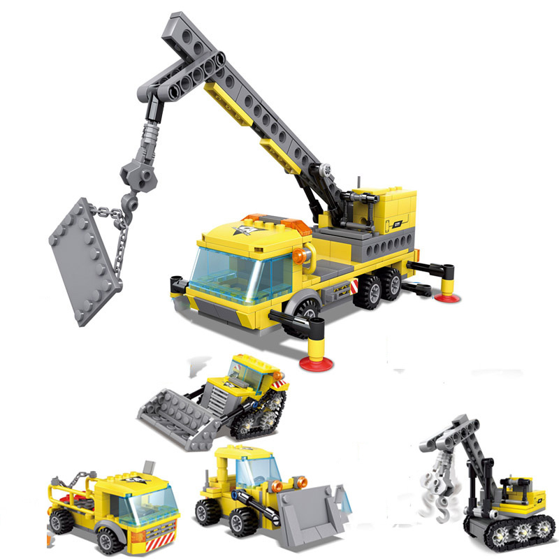 4-in1-City-Construction-Engineering-Excavator-Vehicles-Bulldozer-Building-Blocks-Technic-Bricks-Children-Educational-Toys-Gifts (2)