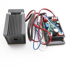 מכירה לוהטת 650nm 660nm 200 mW אדום לייזר מודול ראש TTL שלב תאורה חלק כיתה תעשייתית DC12V