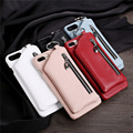 10 PCS Retro Multifunctionele Terug Leather Wallet Case voor Samsung Galaxy Note 8/S8 Plus met Card Slot Echt leather Cover