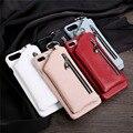 10 PCS Retro Multifunzione Posteriore Cassa di Cuoio Del Raccoglitore per Samsung Galaxy Note 8/S8 Plus con Slot Per Schede di Genuino caso della Copertura del cuoio