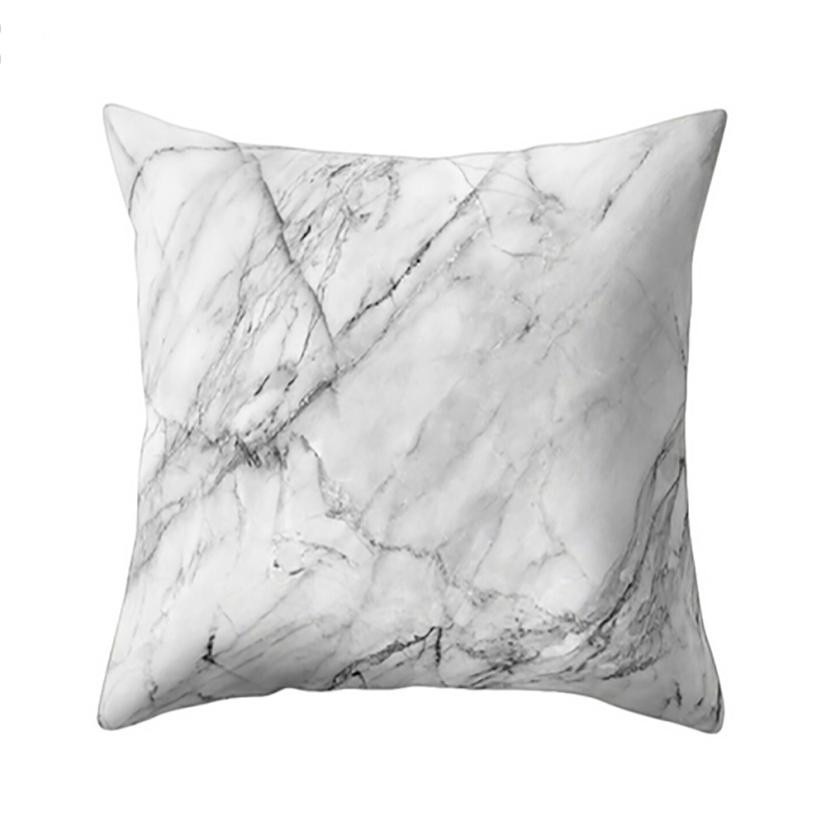 ISHOWTIENDA Geometric Marble Texture Throw Pillow Case Cushion Lines Cover cushion cases For Coffee Shop, Car Seat