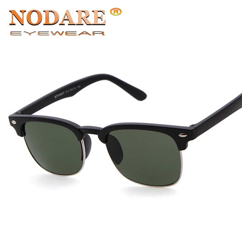 NODARE Fashion Sunglasses Summer Clubmast Coating Sun glass Women & Men Cat Frame Vintage Retro Eye Gafas Oculos de sol 3016