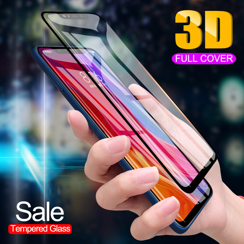Tempered-Glass Full-Cover Xiaomi Mi F1-Screen Pocophone 5s-Plus For 8-Lite/se 6 6x5/5s/5x5c/..