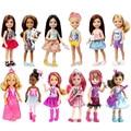 Оригинал lFriends Кукла Челси и Друзья Фильм Ночь Весело 2016 новый мало Кайли Плавание Для Барби подарок для девушки 6 стилей