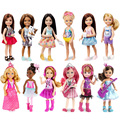 Original lFriends Doll Chelsea and Friends Movie Night Fun 2016 new little Kylie Swimming For Barbie gift for a girl 6 styles