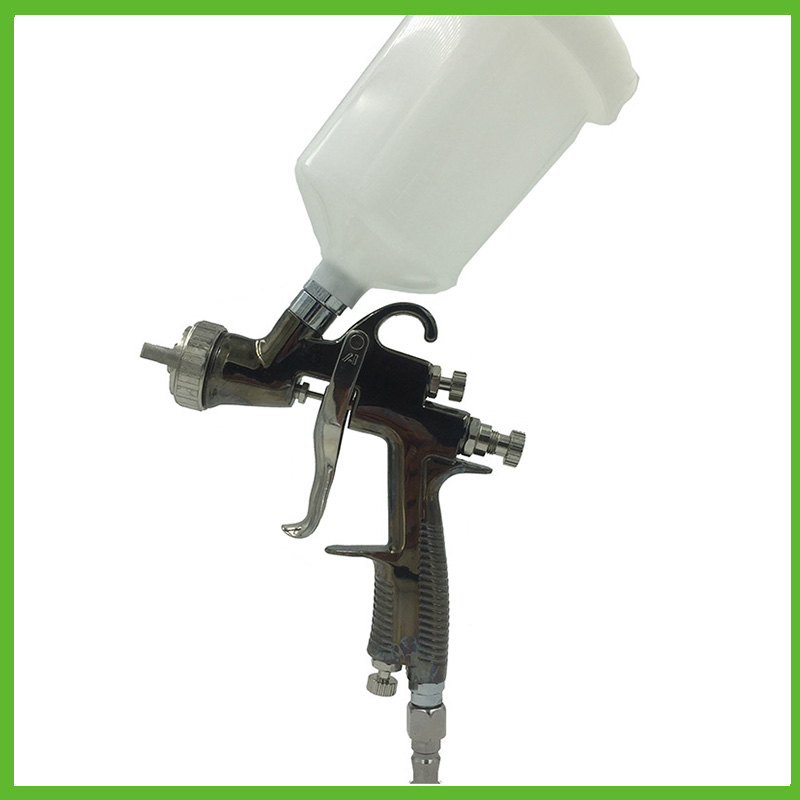 SAT0084 professional air paint sprayer hvlp gun air paint spray gun nozzle 1.5 pneumatic tools
