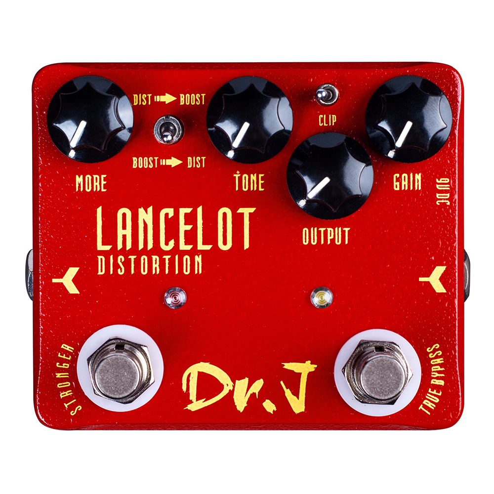 Dr. J LANCELOT Analog Screaming Distortion Electric Guitar Accessories Effect Pedal efeito True Bypass JOYO D59 new effect pedal mooer solo distortion pedal full metal shell true bypass