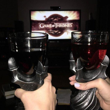 "3D Game of Thrones Mug ""A Song Of Ice And Fire"" Skull Dragon Claw Cup Dragon Glass Shot Cup Beer Glass Cup"