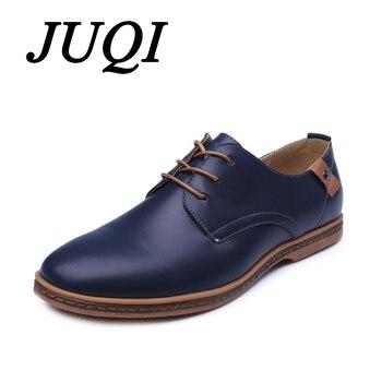 Для мужчин повседневная обувь Для мужчин из искусственной кожи на шнуровке обувь удобные мягкие Для мужчин Туфли без каблуков размер 38-48