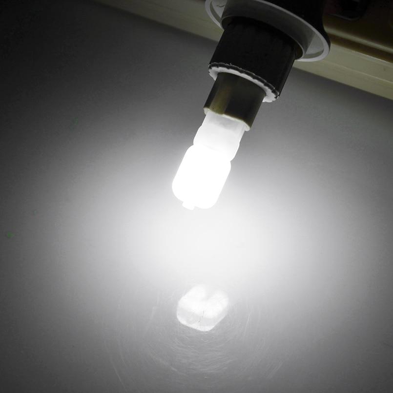 2pcs/lot G4 G9 LED Lamp Mini LED Bulb AC 220V DC 12V SMD2835 Spotlight Chandelier High Quality Lighting Replace Halogen Lamps 5