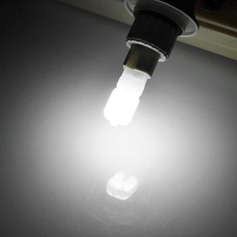 2 unids/lote G4 G9 lámpara LED Mini bombilla LED AC 220V DC 12V SMD2835 lámpara de alta calidad reemplazo de iluminación lámparas halógenas